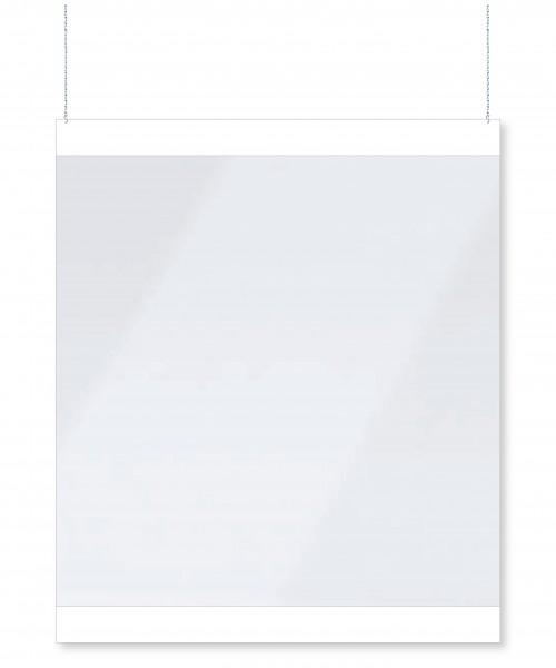 infektionsschutz-bayern Spucktrennwand Aufhänger 137x120 cm