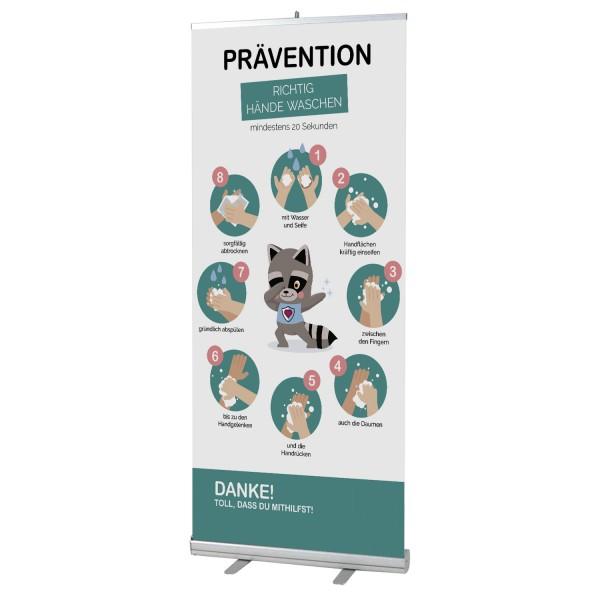 infektionsschutz-bayern Kids Info Roll-Up 100x200 cm
