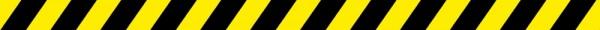 infektionsschutz-bayern 20er Set - Bodenaufkleber/Antirutschaufkleber Indoor Streifen schwarz/gelb