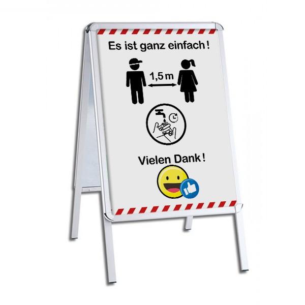 """infektionsschutz-bayern Kinderstopper """"Es ist ganz einfach!"""""""